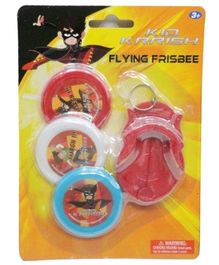 Kid Krrish Flying Frisbee - 3 Pieces