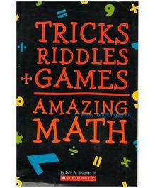 Scholastic Tricks Riddles Games Amazing Math Book - English