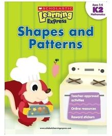 Scholastic Learning Express K2 Shapes And Patterns - English