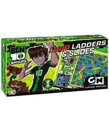 Ben 10 Omniverse - Ludo Slides And Ladders