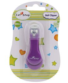 1st Step Nail Clipper - Purple