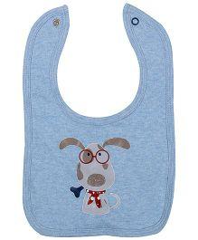 FS Mini Klub Baby Bib Puppy Print - Red N Blue Pack Of Two