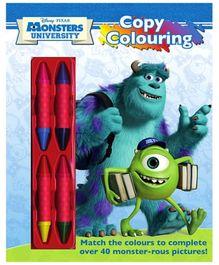 Disney Pixar Monsters University Copy Coloring - English