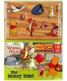 Parragon Disney Winnie The Pooh - Find And Fit Storybook