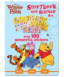 Parragon Disney Winnie The Pooh - Storybook And Sticker Set