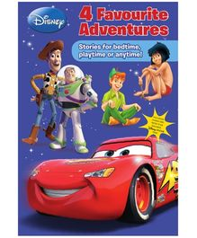 Parragon Disney 4 Favourite Stories - Stories For Bedtime Playtime Or Anytime