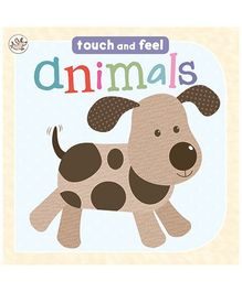 Parragon Touch And Feel Animals Book