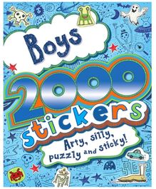 Parragon Boys - 2000 Stickers