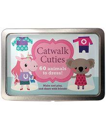 Parragon Catwalk Cuties - 60 Animals To Dress