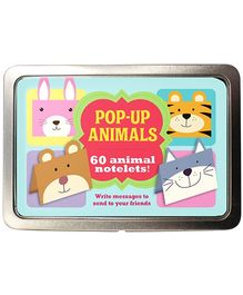 Parragon Pop Up Animals - 60 Animal Notelets