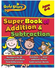 Parragon Goldstars Super Book Of Addition And Subtraction - English