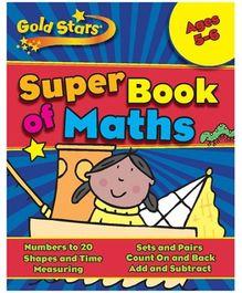 Parragon Goldstars Super Book Of Maths - English