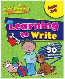 Parragon Goldstars Learning To Write