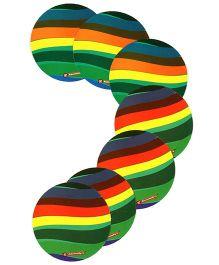 Karmallys Reusable Laminated Coasters Multicolour - Small