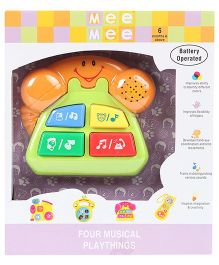 Mee Mee Phone Playthings Musical Toy