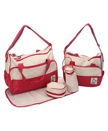 Fab N Funky  Mother Bags -  Set of 4 pieces