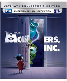 Disney Monster Inc 3D English - Blu Ray Disc