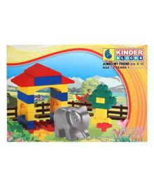 Peacock Kinder Blocks - Jumbo My Friend