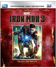 Marvel Iron Man 3 In 3D English - Blu Ray Disc