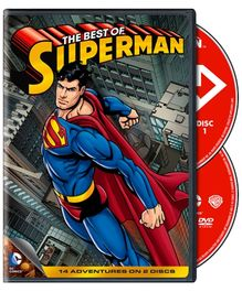 DC Comics The Best Of Superman - DVD