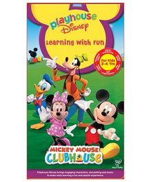 Disney Learning With Fun DVD - Mickey Mouse ClubHouse