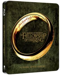 Lord Of The Rings The Fellowship Of The Ring Steelbook - Blu Ray Disc