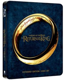 Lord of the Rings The Return Of The King Steelbook - Blu Ray Disc