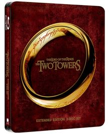Lord Of The Rings The Two Towers Steelbook Blu Ray Disc