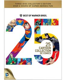 Warner Bros Best of 25 Cartoon Collection DC Comics - DVD