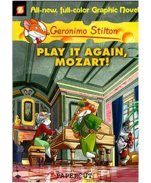 Scholastic Geronimo Stilton Play It Again Mozart Graphic Book