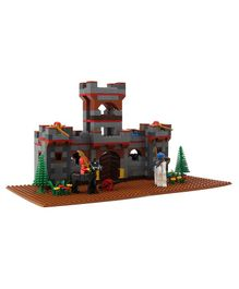 Peacock Smart Blocks - Castle Set With Warriors