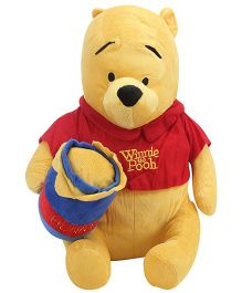 Disney Pooh With Honey Pot - 43 cm