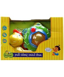 Beebop Snail Drum Pull Along Toy