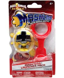 Tech4Kids Power Rangers Mashems Launcher Pack - Yellow