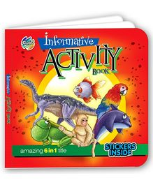 Chitra Informative Activity Book - 6 In 1 Title