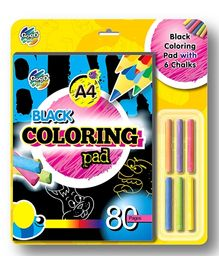 Chitra Gogo Kids Black Coloring Pad - 80 Pages