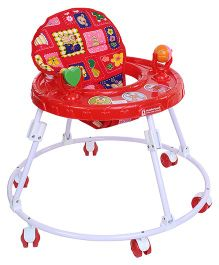 Mothertouch Round Walker - Red