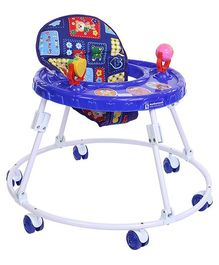Mothertouch Round Walker - Blue