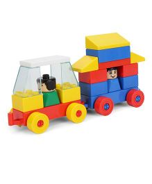 Peacock Kinder Blocks - Car Set