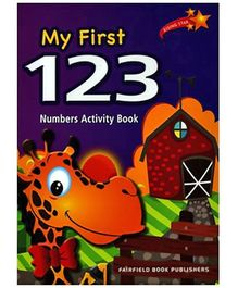Fairfield Book Publisher My First 123 Numbers Activity Book