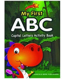 Fairfield Book Publisher My First ABC Capital Letters Activity Book