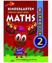 Fairfield Book Publisher Complete Smart Kindergarten Maths Work Book 2