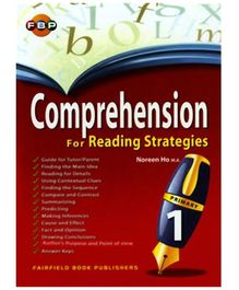 Fairfield Book Publisher Comprehension For Reading Strategies Primary 1
