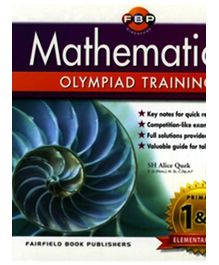 Fairfield Book Publisher Mathematical Olympiad Training Primary 1 And Primary 2 Elementary Level - English