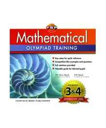 Fairfield Book Publisher Mathematical Olympiad Training Primary 3 And Primary 4 Intermediate Level - English