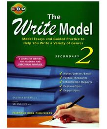Fairfield Book Publisher The Write Model Secondary 2 - English