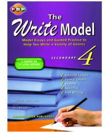 Fairfield Book Publisher The Write Model Secondary 4 - English