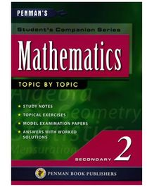 Fairfield Book Publisher Mathematics Topic By Topic Secondary 2 - English