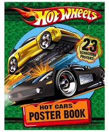 Harper Collins Hot Wheels Hot Cars Poster Book - 23 Scorching Posters