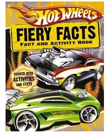 Harper Collins Hot Wheels Fiery Facts Book